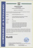 RoHS Certification for LED work lamp