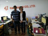 Our good customer from South America visit G&J PAPER