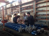 Bangladesh customer come to visit the factory