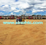 Our tractor trucks and trailers in Zambia