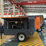 portable air compressor assembiling line 4