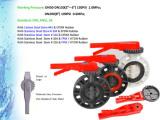 Plastic PVC Butterfly Valve DIN ANSI JIS Cns Standards