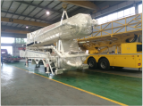 Our Truck-mounted concrete pump (37M) for South Africa market
