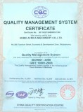 Quality Management System ISO9001:2008