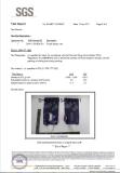 Certification of foldable water bottle