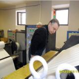 French customer test machine photo