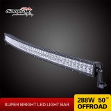 "50"" 288W CREE Super Bright Offroad Curved LED Lightbar"