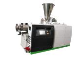 PVC Conical Twin Screw Extruder Pelletizing Machine