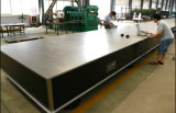 10m length large size table testing