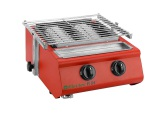 Gas BBQ grill for family use