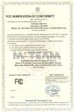 DVR FCC certificate