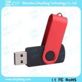 Promotional Gift Swivel Twist Red & Black USB Stick