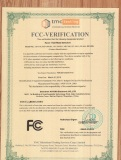 FCC Certification for hand held metal detector