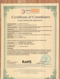 Rohs Certification for hand held metal detector