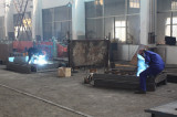 The Workers Do The Welding in Dongfang Workshop