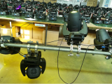 Hanging test: mini 250W led spot zoom moving head