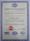ISO 9001 : 2000 CERTIFICATION