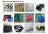Anodized CNC machining parts