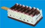 Layer type ice cream with extrusion line