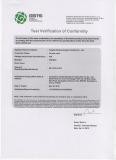 BS1010-2-1973 certificate