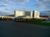 JAC forklift in Russia-F1 Sochi track