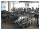 the production workshop of the drill rods and the casing tubes.
