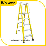 2016 hot sale insulated folding plaform frp ladder with safe rail