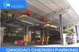single post automaitc car parking system