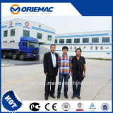 Singapore Clients Visited Our Factory For Telescopic Crawler Crane SMQ500D