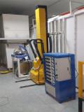 Vertical Reciprocating Machine Configuration