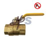 NSF standard Low Lead Female Brass Ball Valve