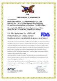 FDA certificate of laser cleaning machine