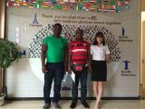Customer Visit from Ghana