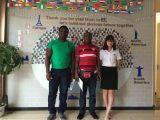 Customer Visit from Ghana