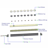 saving energe 50% led grow light bar