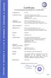 CE Certificate of Escalator