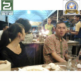 Indonesia Customer Invite us For Dinner 2013