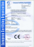 CE Certification for battery counterbalanced forklift truck model CPD10S