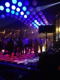 3D dance floor used in wedding