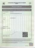 Soncap Product Certificate