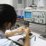 Inspecting center for gears, sprockets and shafts
