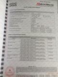 SGS testing report4