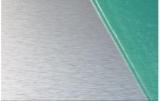 Brush aluminium sheet