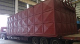 Dec 12th, 2014 Delivery of thermal oil boiler