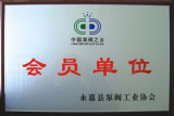 Member company of Yongjia Pump and Valve Industrial Association