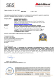 SGS audited
