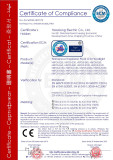 ATEX certificate of explosion proof led floodlight
