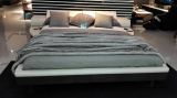 King Size Bed Display In Showroom