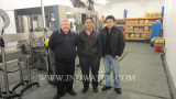 Our engineers installed machines in customer′s Water Plant in UK