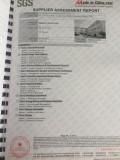 SGS testing report2